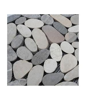 Pebble Slice Mosaics